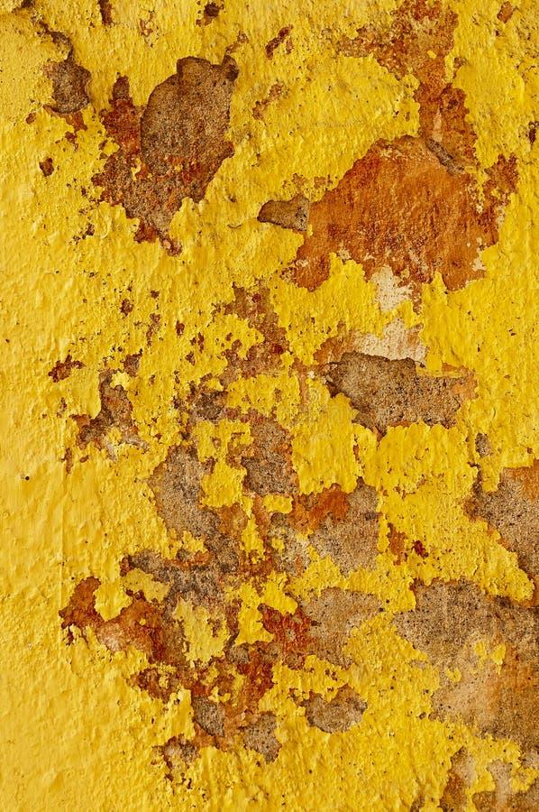 Download Yellow mud wall stock photo. Image of peeling, yellow - 21969862