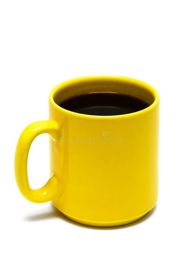 Free Yellow Mug From Coffee Royalty Free Stock Photos - 7888608