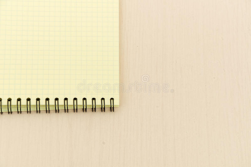 Yellow Note Book With Lots Stock Images