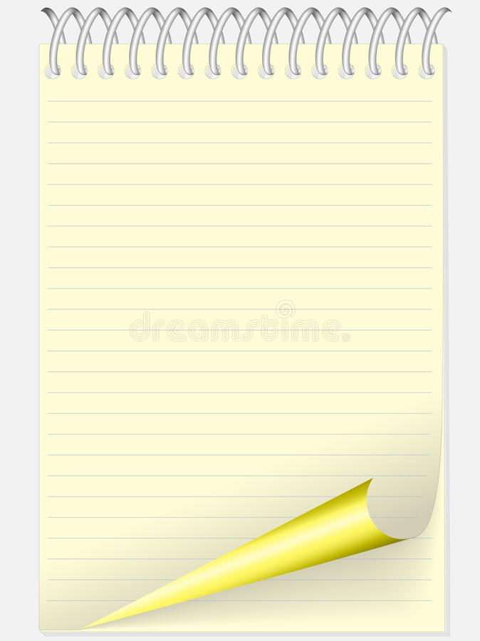 Free Yellow Notebook Royalty Free Stock Image - 20656636