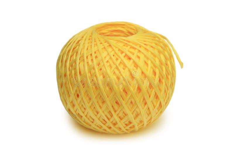 Tangle of nylon thread stock image