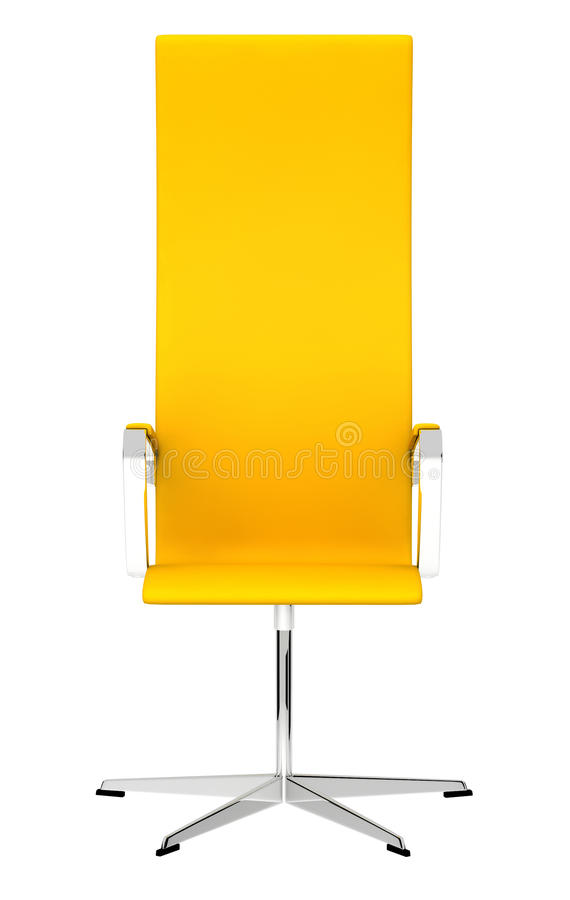 yellow office chair stock photos - image: 19972863