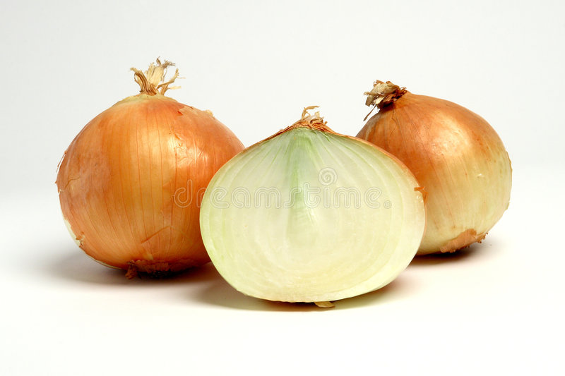 Yellow Onions stock images