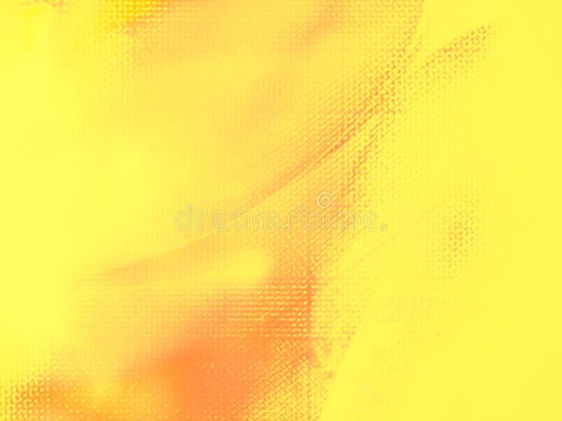 Yellow orange abstract pattern background. Yellow and orange abstract pattern background, yellow easter design background stock illustration