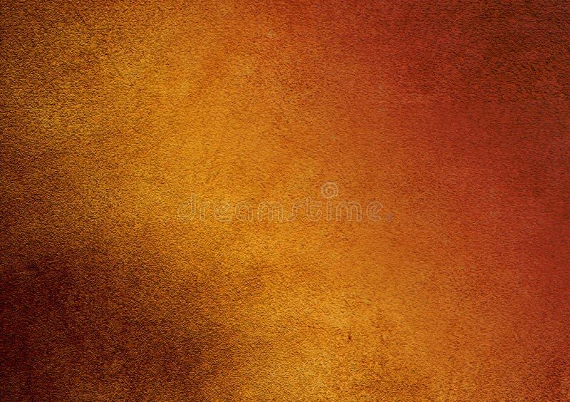 Yellow-orange gradient textured background wallpaper design royalty free stock image