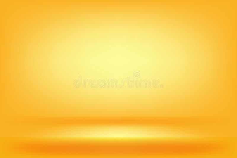 yellow and orange studio background royalty free stock photo