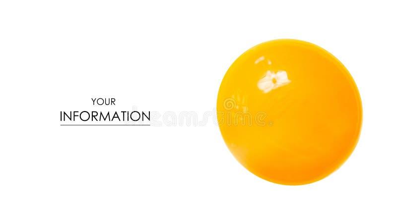 Yellow orange yolk macro food pattern stock photography