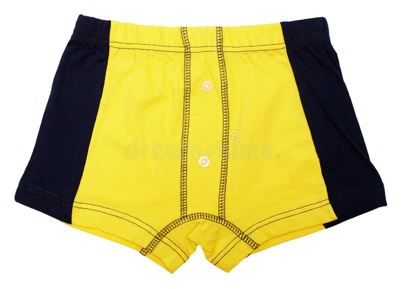 Download Yellow Pants For A Child On White Stock Photo - Image: 20586082