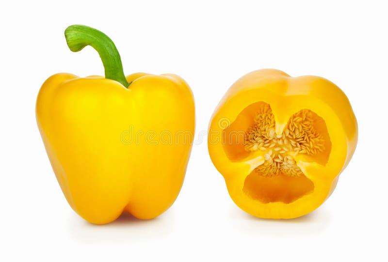 Yellow Paprika royalty free stock photos