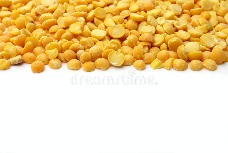 Download Yellow pea grits stock image. Image of closeup, pattern - 21585459