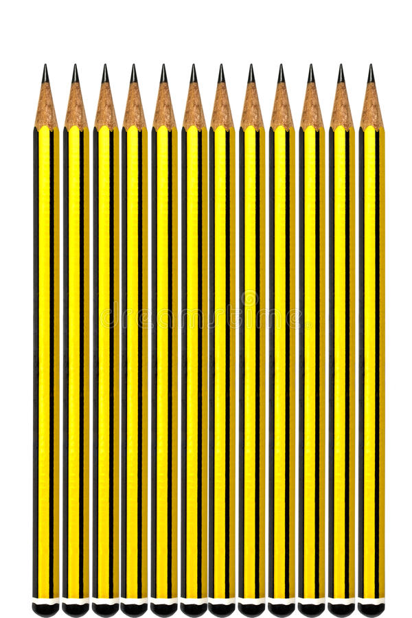 Download Yellow pencils stock photo. Image of object, office, nobody - 19302626