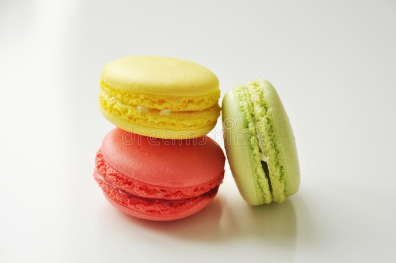 Yellow Pink And Green Macaroons Free Public Domain Cc0 Image