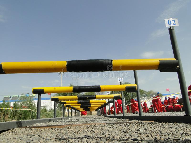 Yellow, Pipeline Transport, Water, Pipe royalty free stock photo