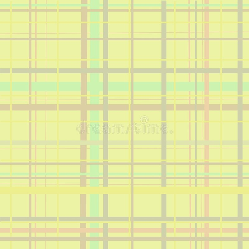 Yellow Plaid stock photos