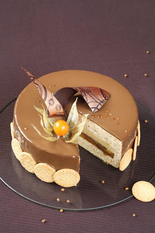 Plum Hazelnut And Chocolate Cake