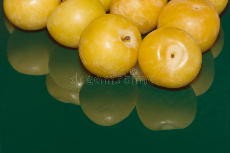 Download Yellow plums stock photo. Image of succulent, fruit, close - 18257666