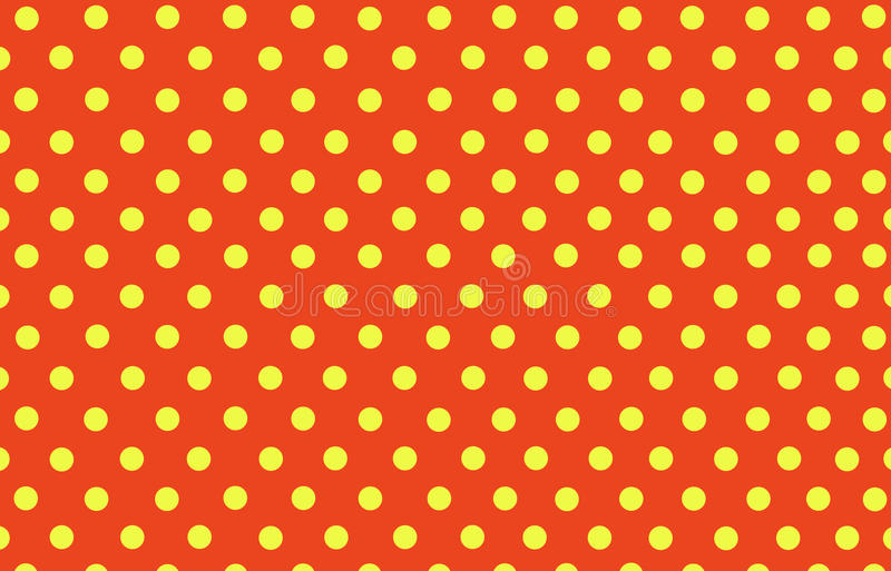 download yellow polka dot with orange background stock illustration illustration of background yellow