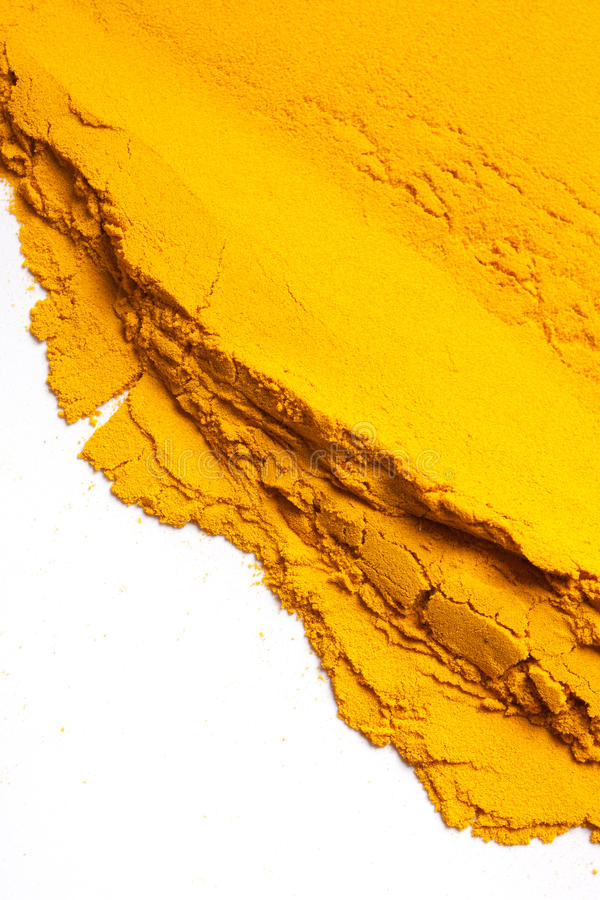 Yellow powder background stock images