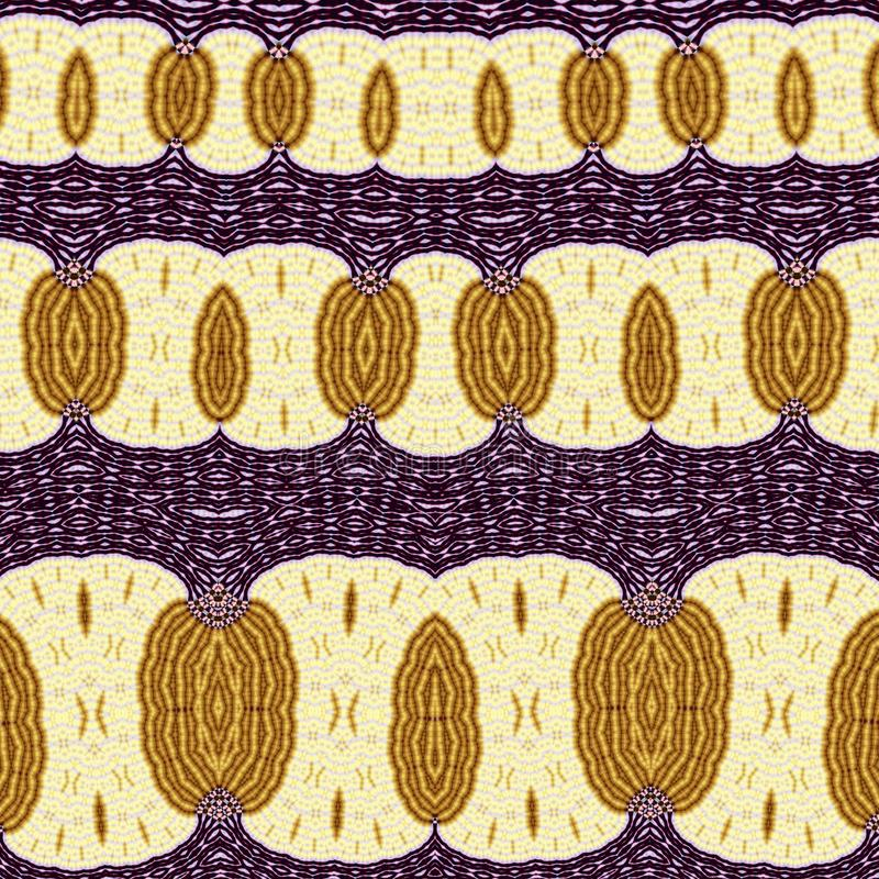 Yellow and Purple Abstract Pattern vector illustration