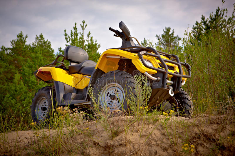 Download Yellow Quad Stock Photo - Image: 18738540