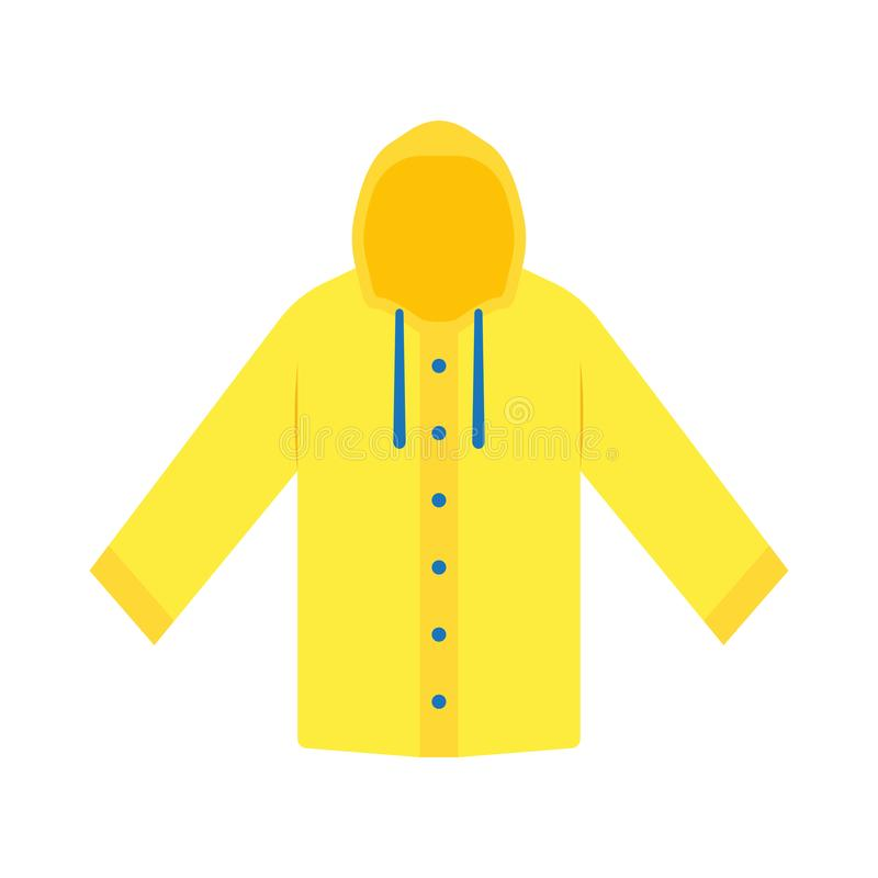 Free Yellow Raincoat Waterproof Clothes Royalty Free Stock Photography - 103926187
