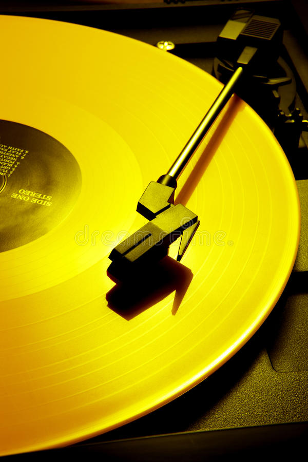 Download Yellow record stock photo. Image of vibrant, record, entertainment - 18900140