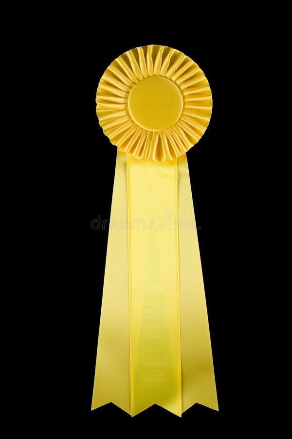 Yellow ribbon stock photos