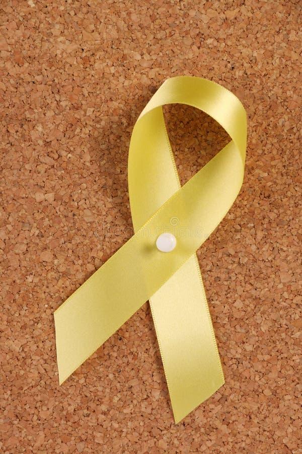 Free Yellow Ribbon Reminder Royalty Free Stock Photos - 30963548