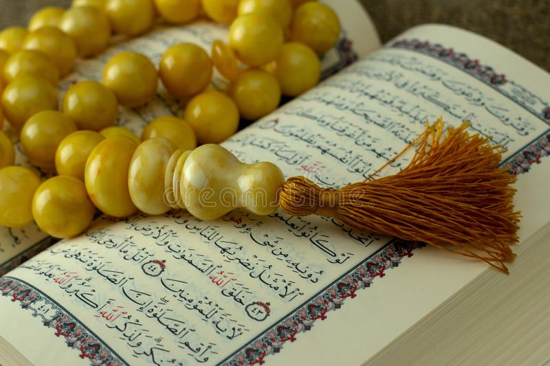 Heaven S Quran With Rosary Stock Photo Image Of Heart