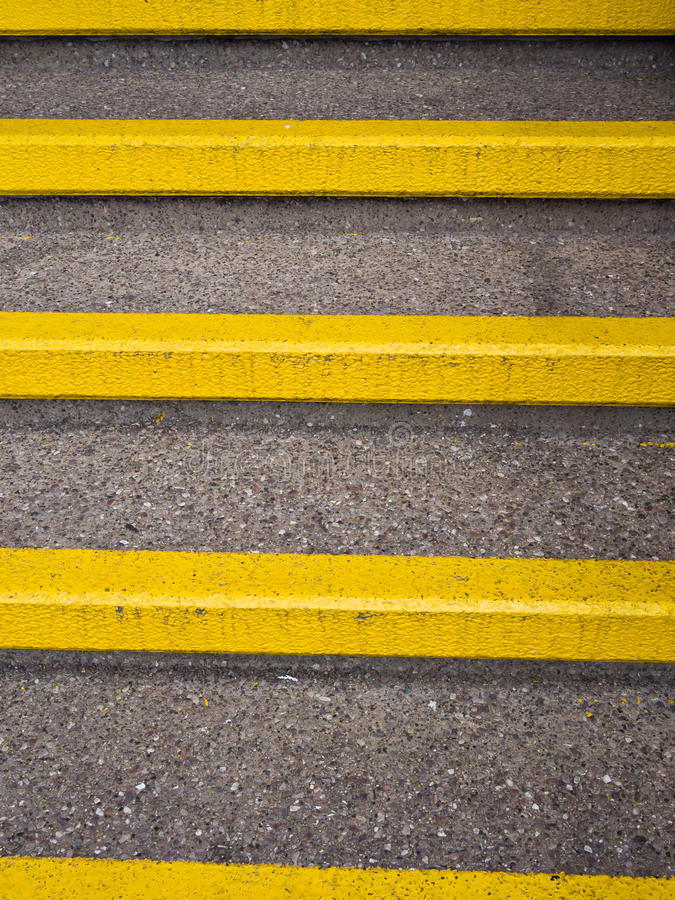 Download Yellow Safety Steps - Accident Prevention Stock Image - Image: 26346931