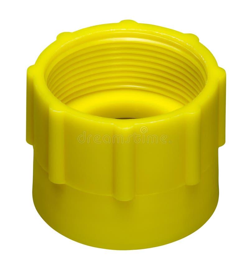 Download Yellow cap stock image. Image of closure, single, seal - 30896007