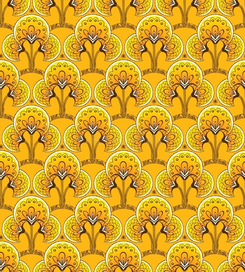 Yellow Seamless background