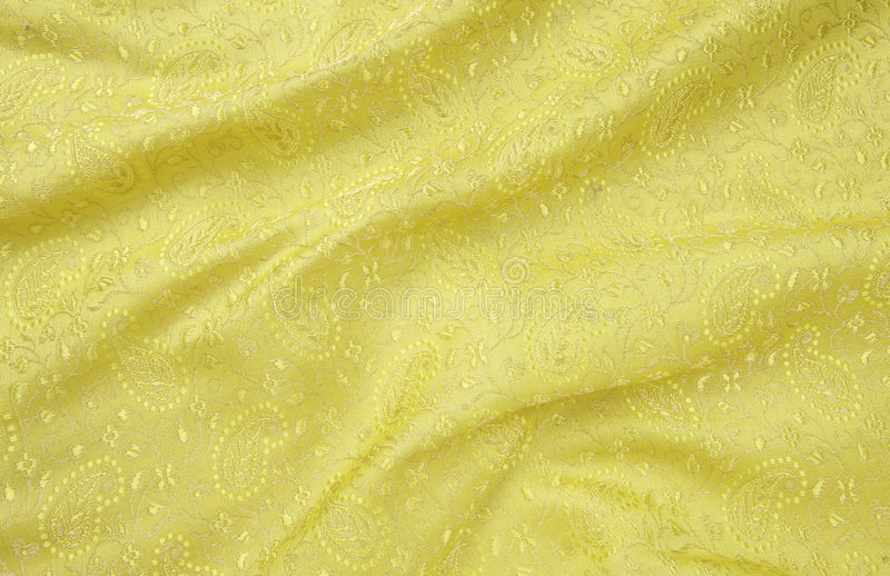 Download Yellow Self Designed Background Cloth Stock Photo - Image: 8337314