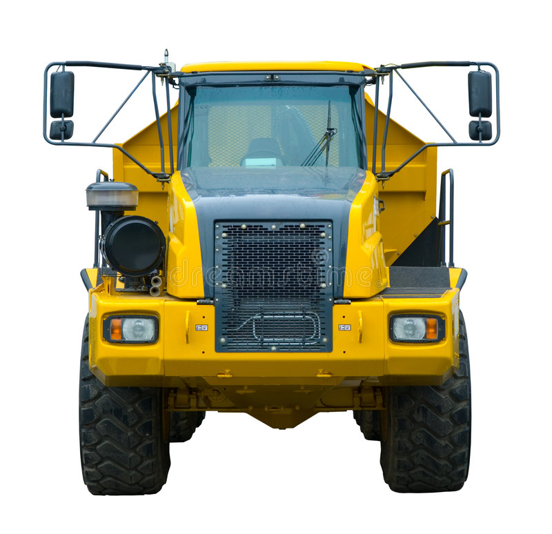 Free Yellow Semi Truck Royalty Free Stock Image - 6117576