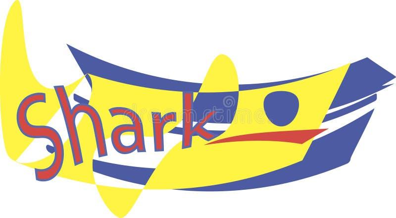 Yellow shark stock photo