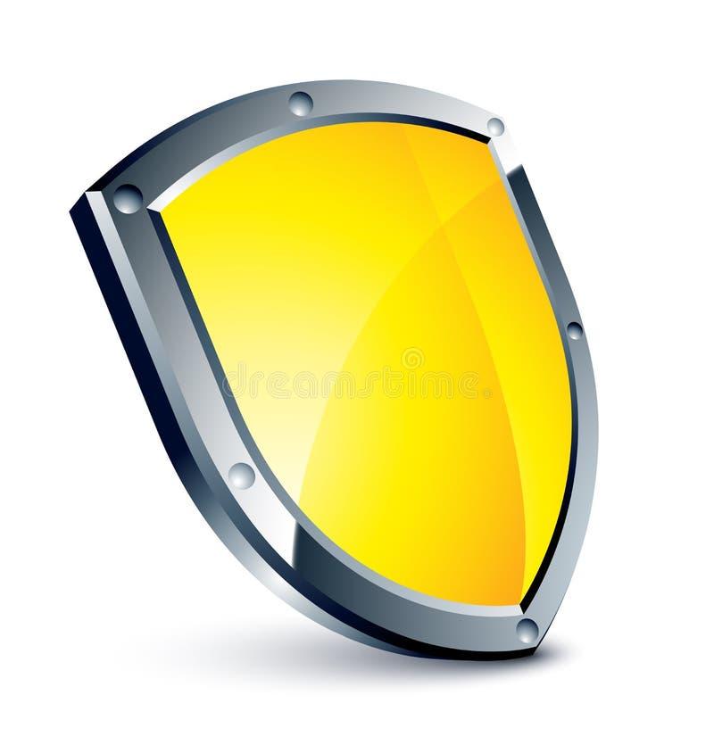 Free Yellow Shield Stock Photos - 8411973