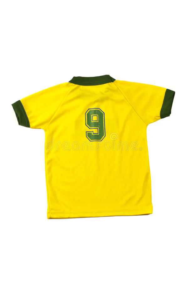 Download Yellow shirt stock image. Image of number, single, fashionable - 23319555