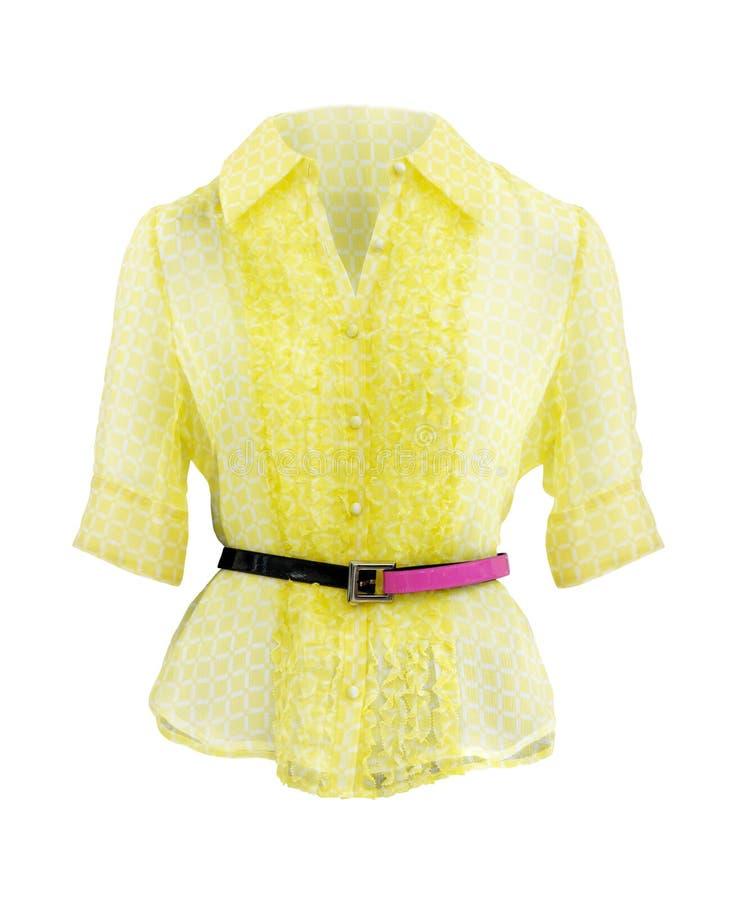 Yellow Shirt royalty free stock photo