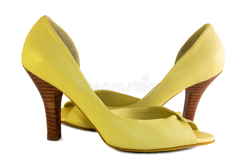 Download Yellow shoes stock photo. Image of style, leather, footwear - 2666304