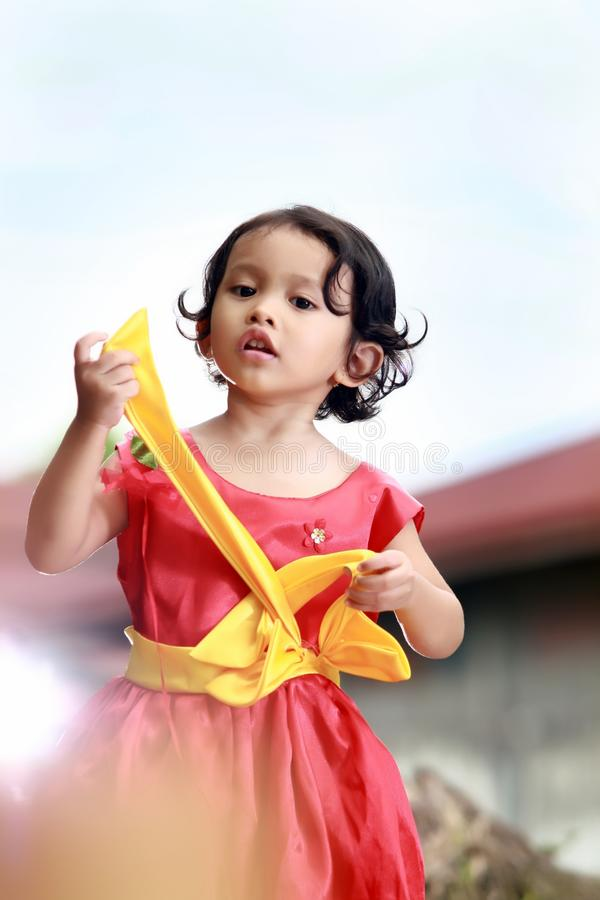 Yellow, Skin, Pink, Child stock images