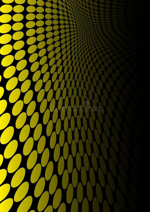 Yellow slide stock image
