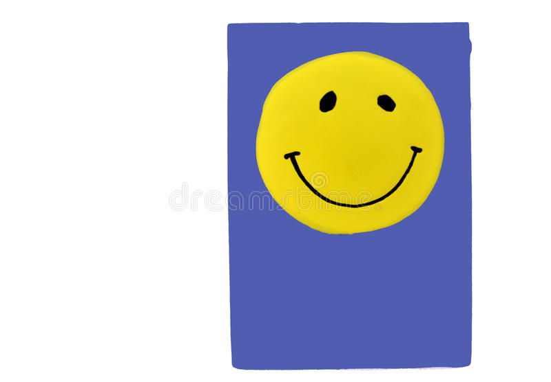 Yellow Smile Stock Images