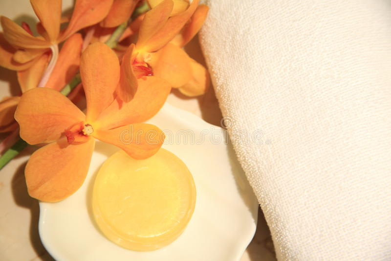 Download Yellow, soap stock image. Image of massage, asia, star - 17517043