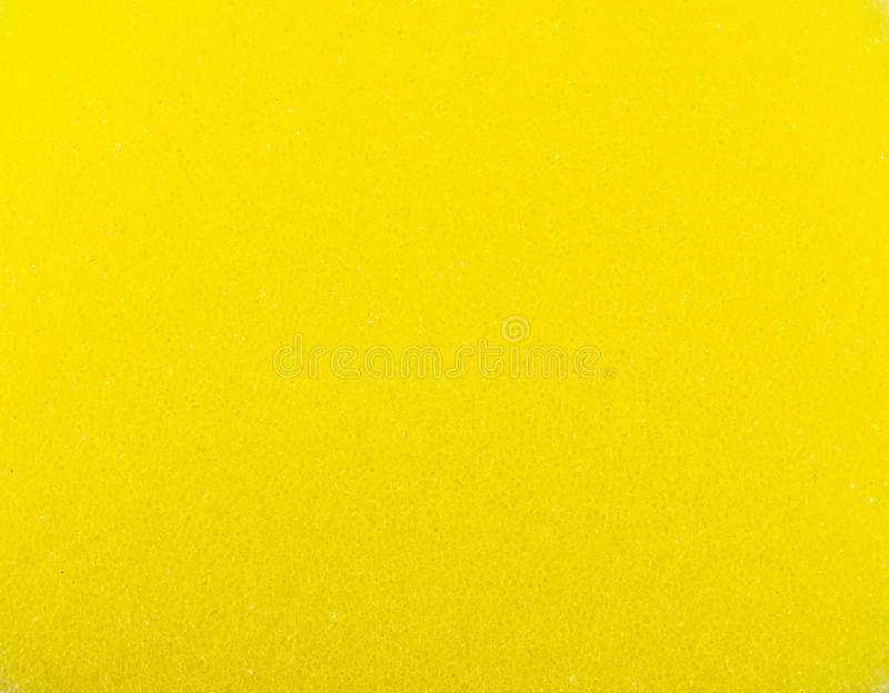 Yellow sponge texture. Perfect for use as a wallpaper or background royalty free stock photos