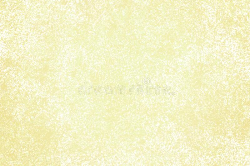 Yellow Sponged Textured Background royalty free illustration