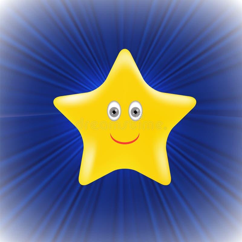 Yellow Star stock illustration