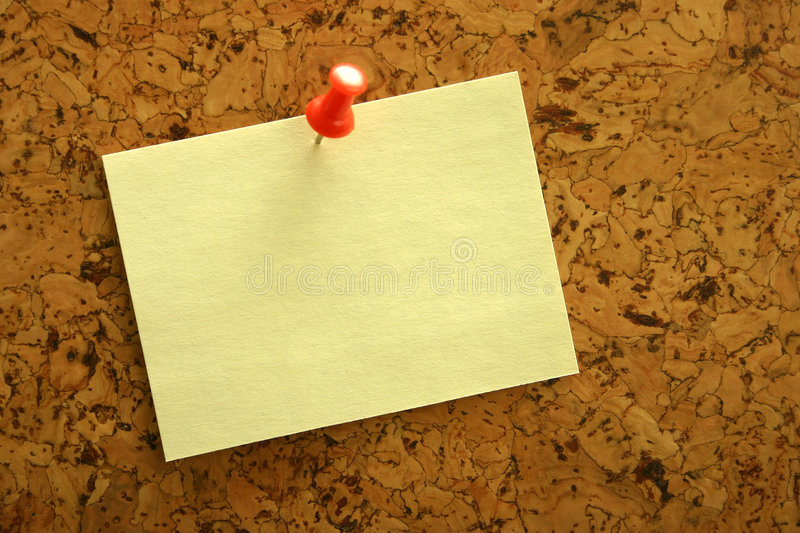 Download Yellow sticker. stock photo. Image of declaration, sticky - 520240