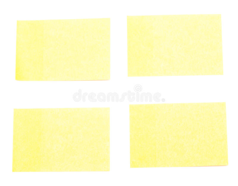 Download Yellow stickers stock photo. Image of anybody, label - 25900766