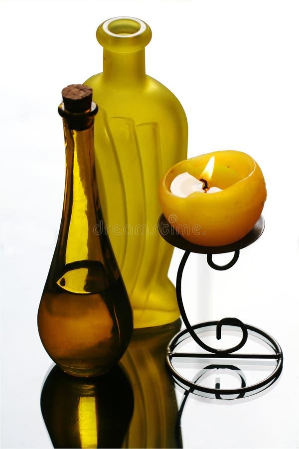 Yellow still life royalty free stock photography