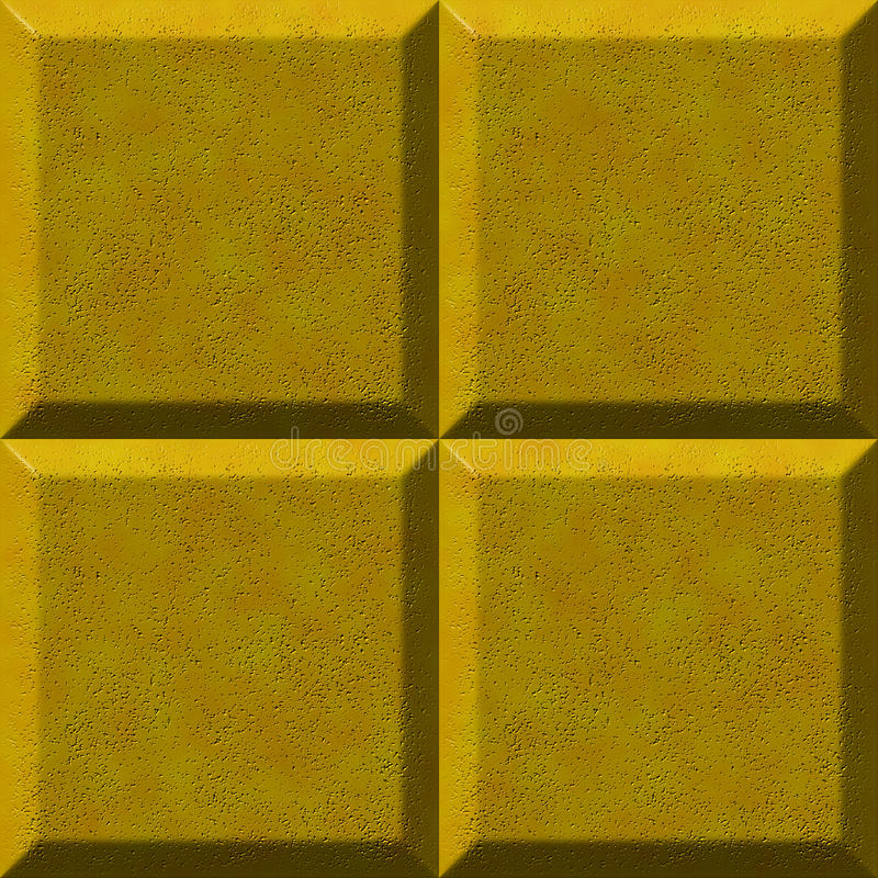 Yellow stone. Texture of a yellow stone or tile. Marble, granite or similar vector illustration